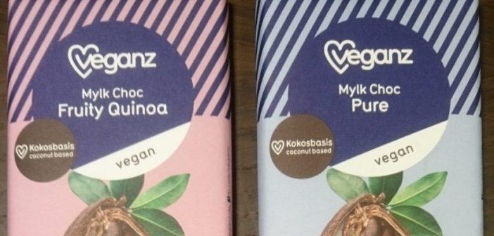 Richtig gute vegane Milchschokolade jetzt bei veganz
